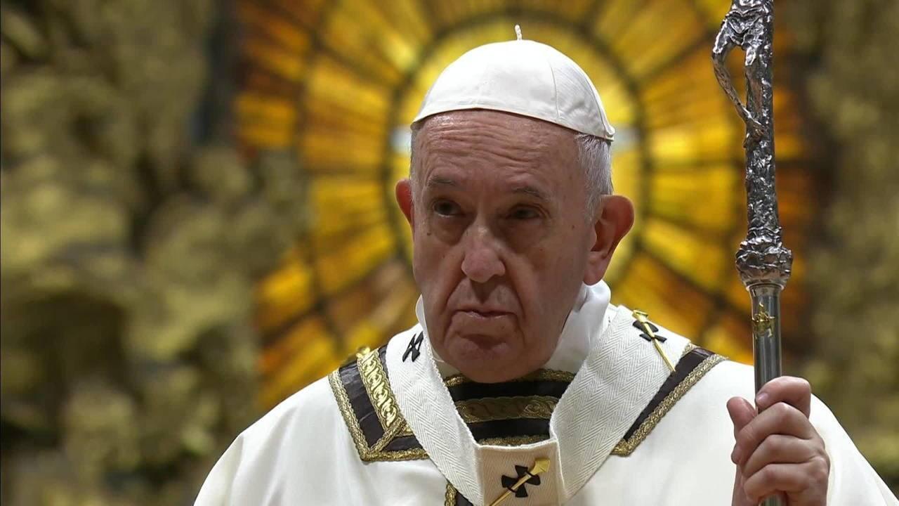 Papa Francisco celebra Missa do Galo na Basílica de São Pedro