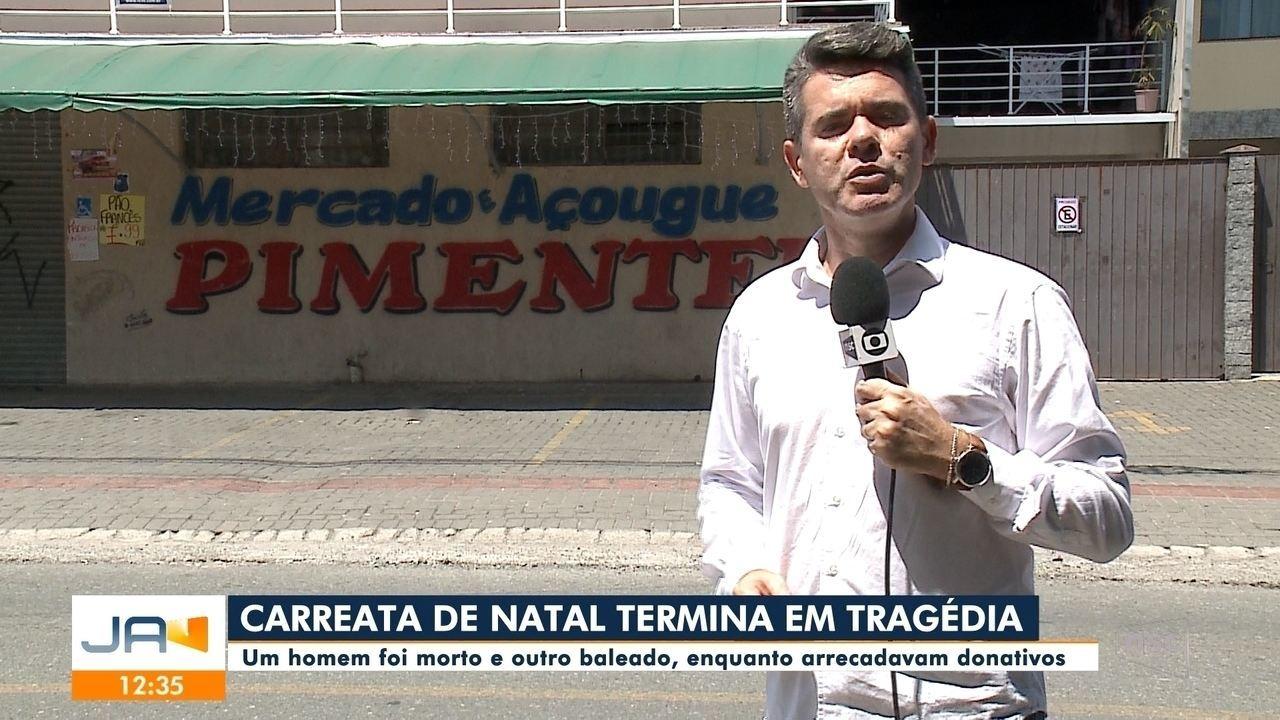 Homem é morto durante arrecadação de donativos para o Natal em Joinville