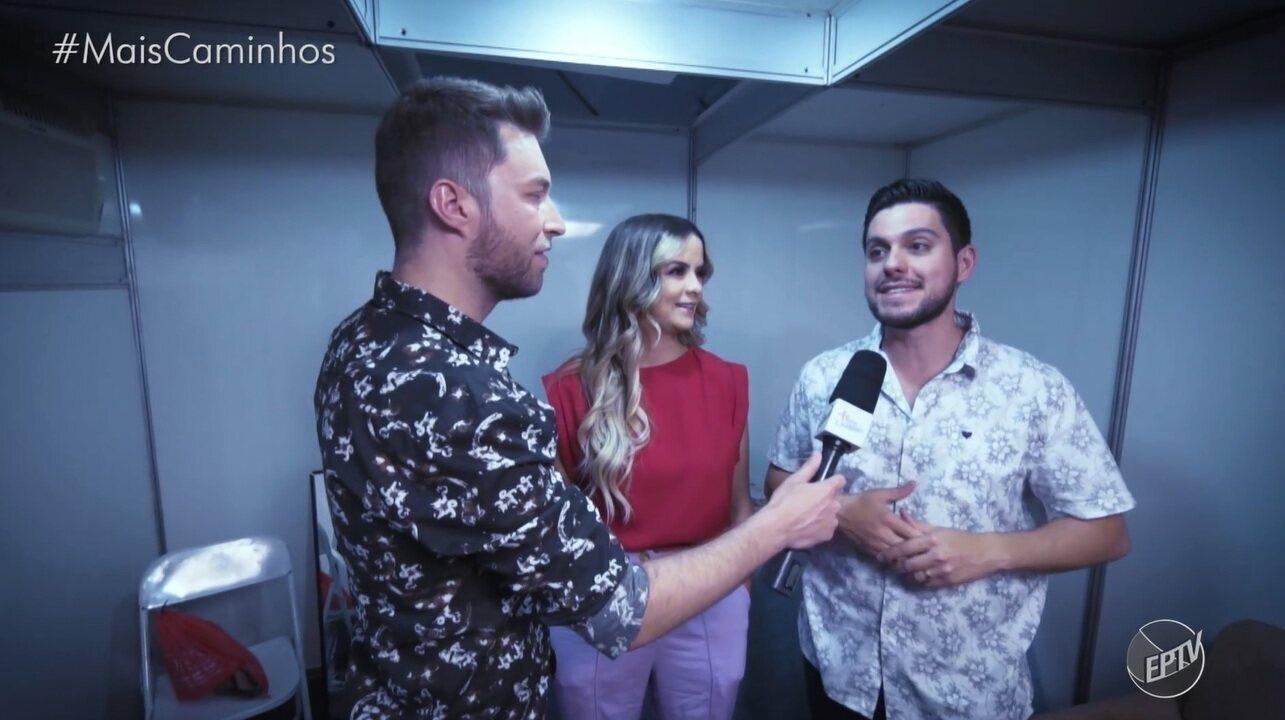 Rafael Ristow acompanhou os bastidores do 'Especial Musical de Fim de Ano' da EPTV