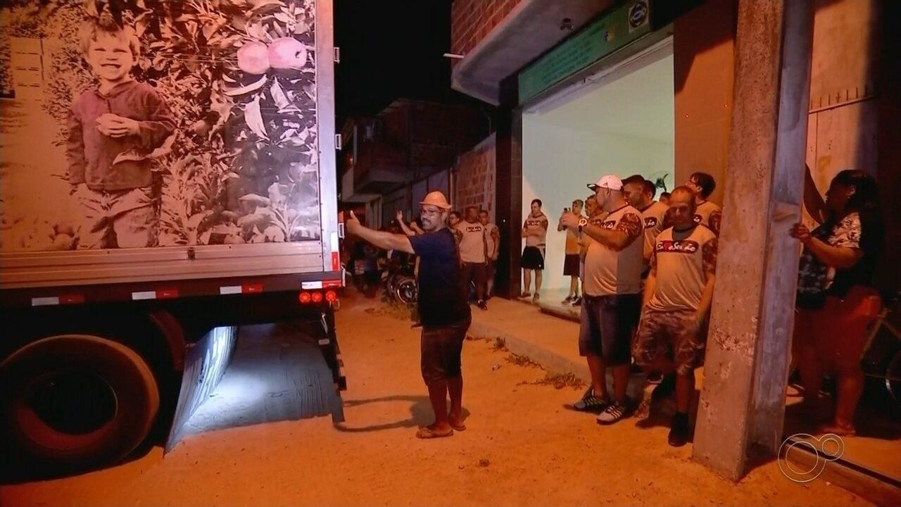 Série 'Renovação': voluntários de Bauru levam 30 toneladas de alimentos ao sertão do NE