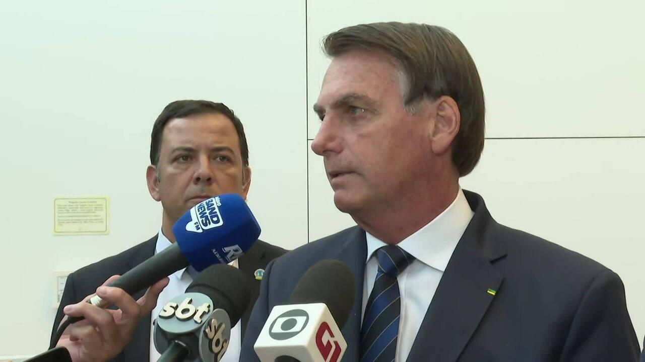 Bolsonaro admite que crise EUA x Irã pode impactar combustível