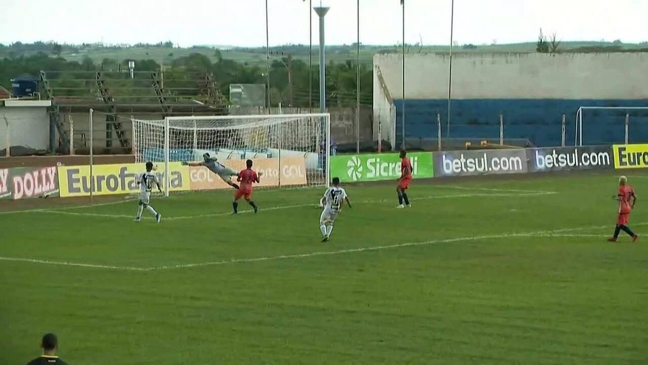 Os gols de Ponte Preta 5 x 1 Osvaldo Cruz