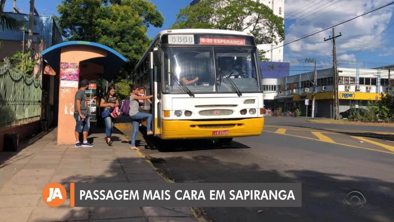 Passagem de ônibus de Sapiranga tem aumento de 50 centavos