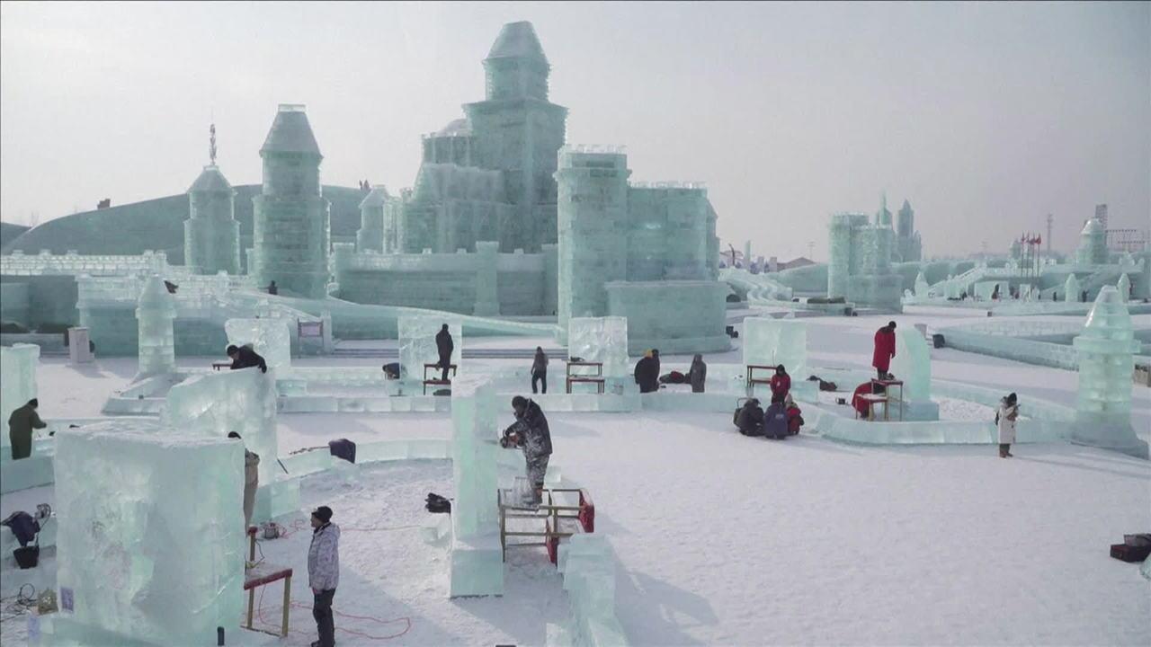 Festival de Inverno na China atrai milhões de turistas