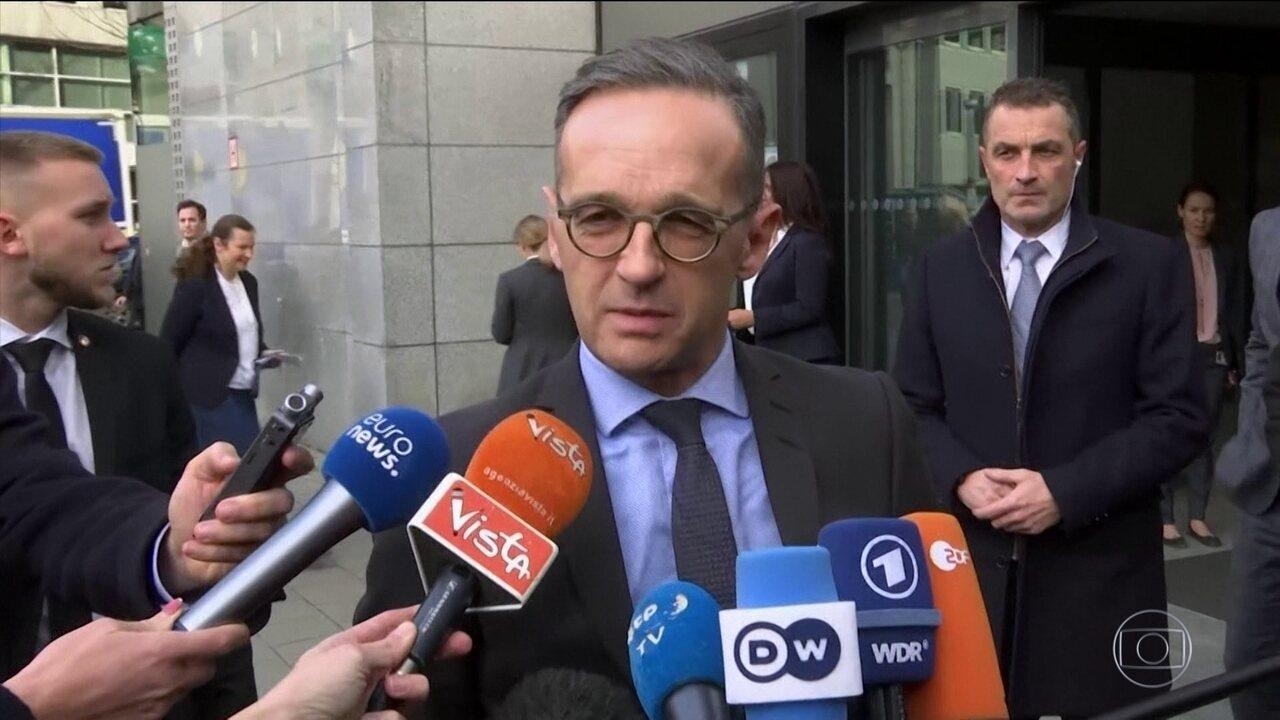 Líderes europeus querem que Irã volte atrás e cumpra acordo nuclear