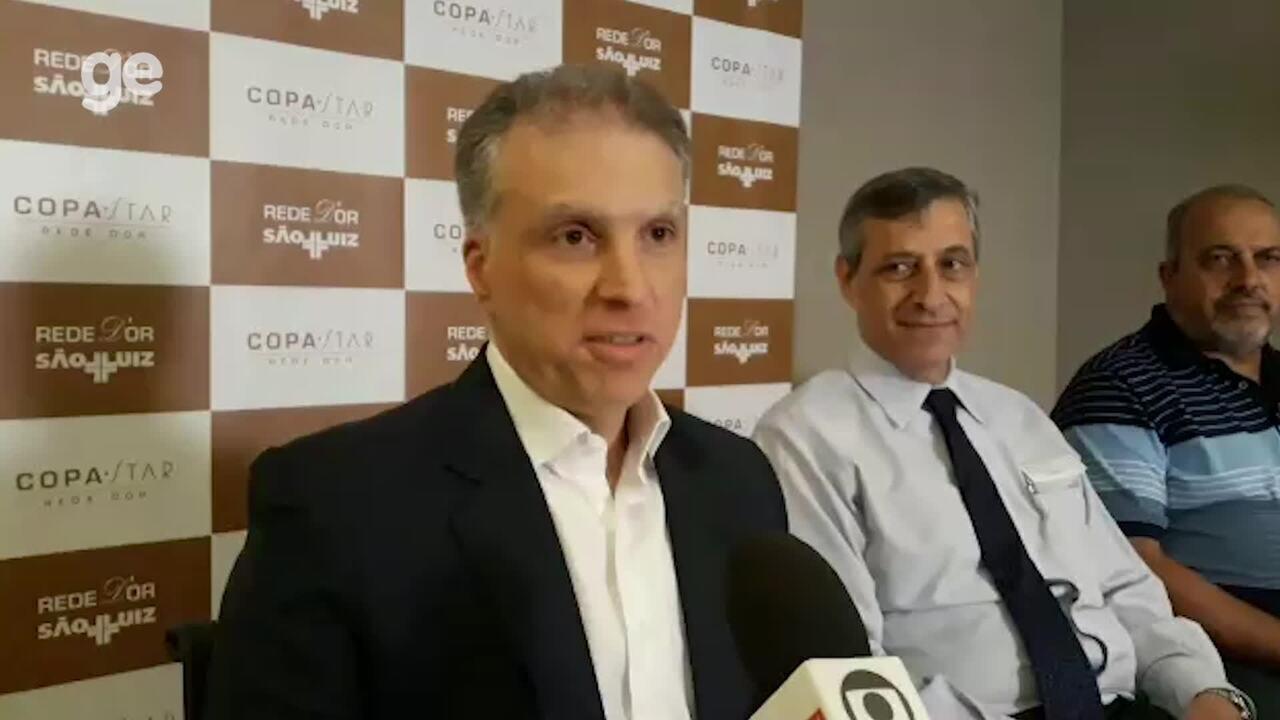 Médicos explicam procedimento cirúrgico de Renato Gaúcho