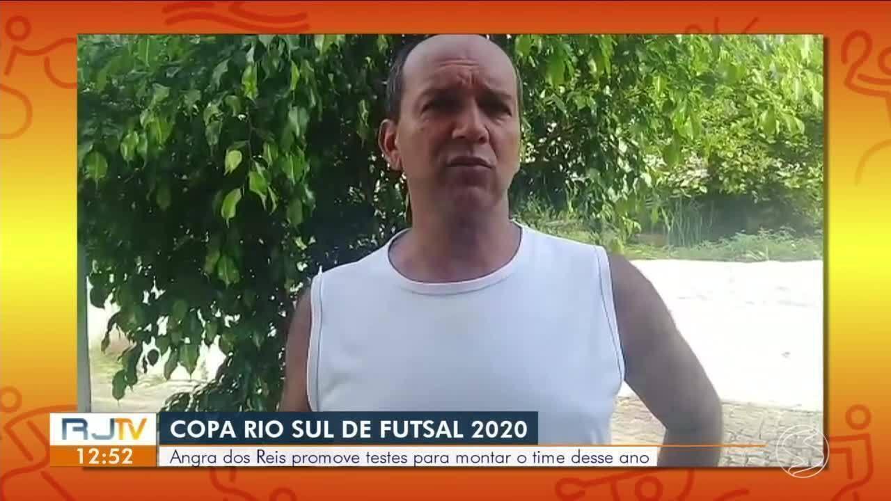 Angra dos Reis faz peneira para montar equipe para Copa Rio Sul de Futsal