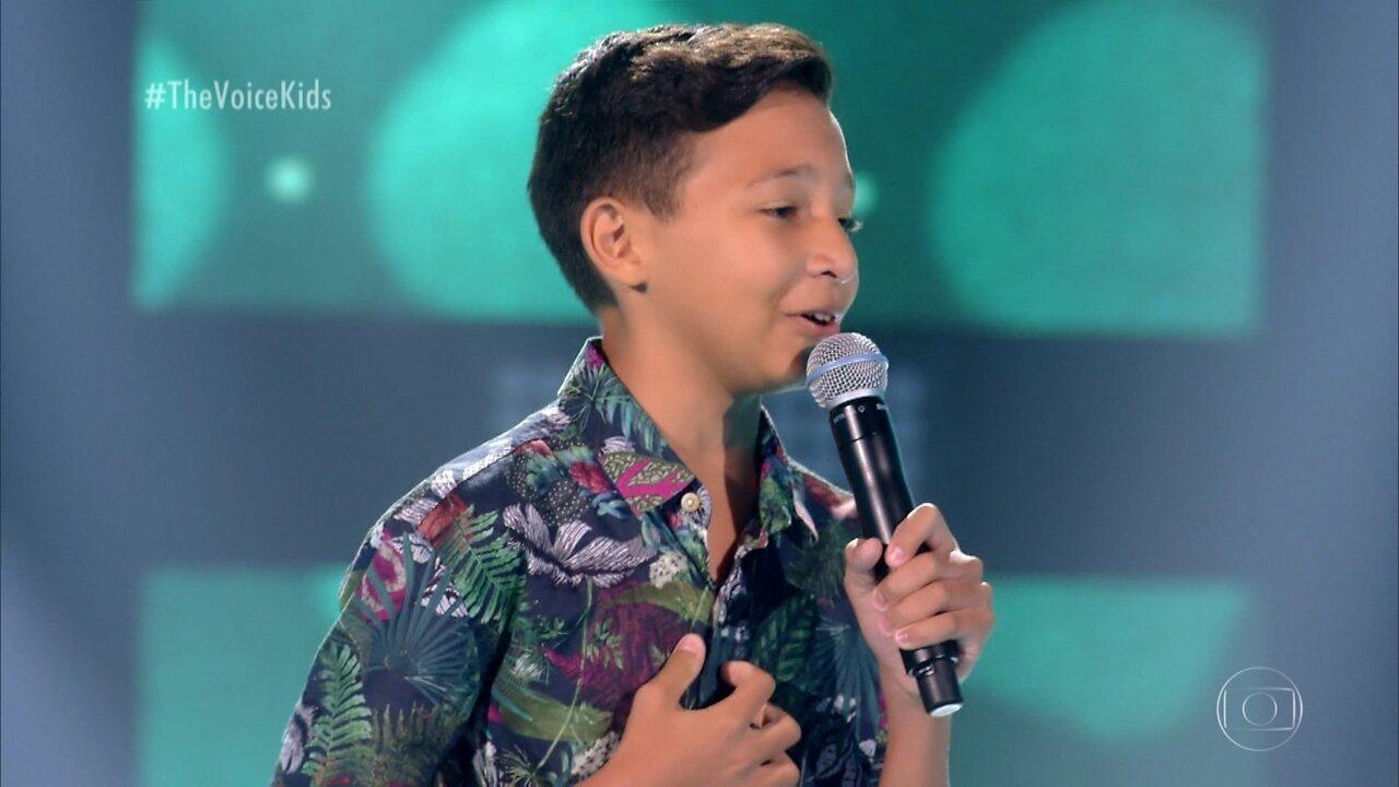 """Benício Abraão canta """"O Caderno"""""""