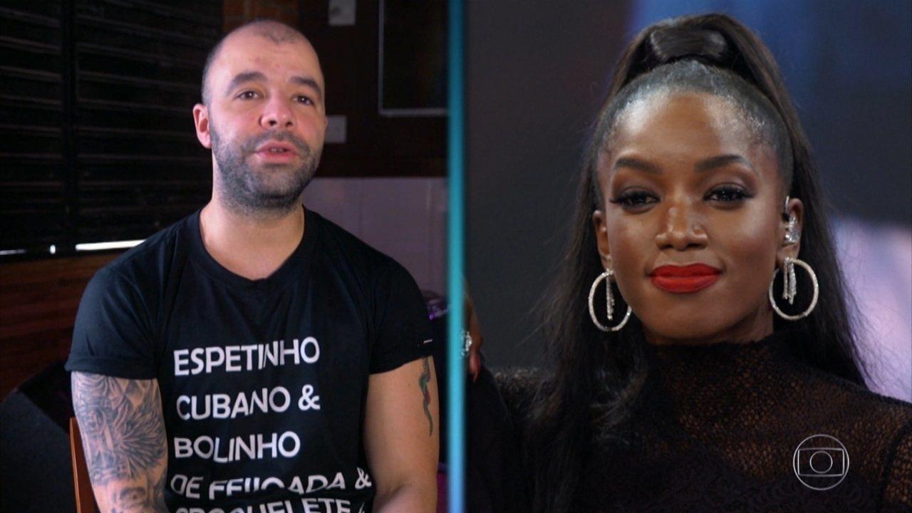 Marcos Jaconiano e Nathália Rosental, contam sobre início da carreira de IZA