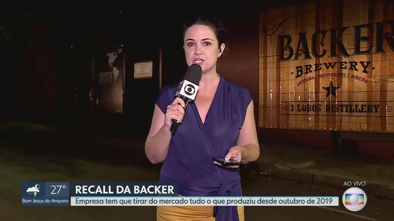 Ministério da Agricultura determina que a Backer recolha todas as cervejas da empresa