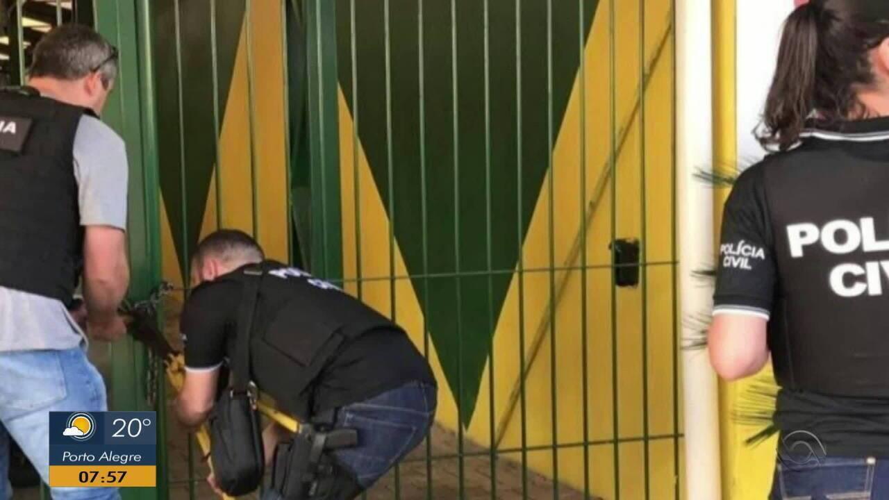 Polícia realiza operação contra lavagem de dinheiro em municípios do RS