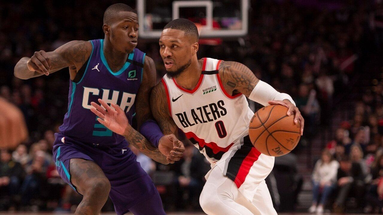 Melhores momentos de Portland Trail Blazers 115 x 112 Charlotte Hornets pela NBA