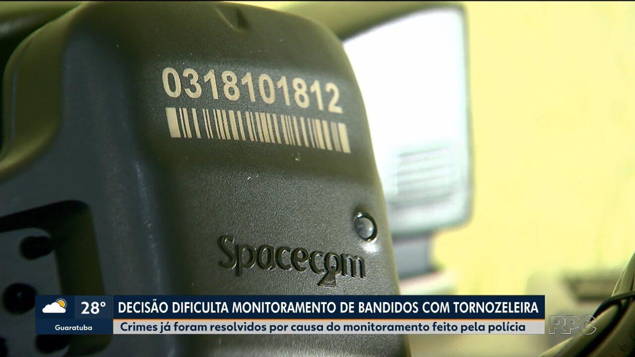 Justiça e Governo do Paraná proíbem repasse de informações sobre monitorados por tornozeleira eletrônica, sem ordem judicial