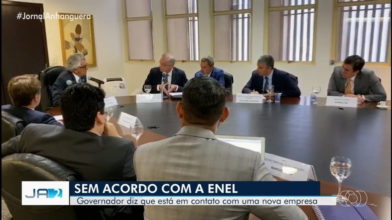 Governo de Goiás se reúne com Enel e Aneel e saem sem acordo sobre crise energética