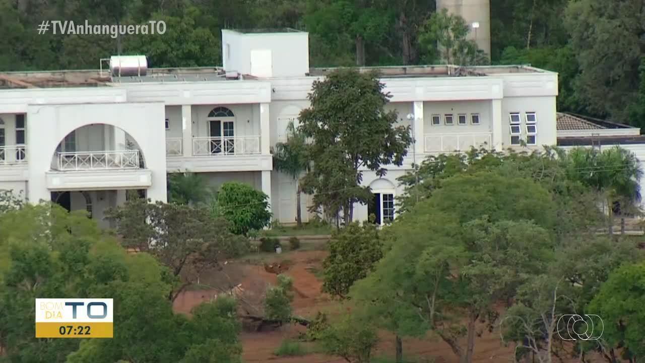 Casa branca do governo do estado está com a obra parada e é alvo de investigação do MPE