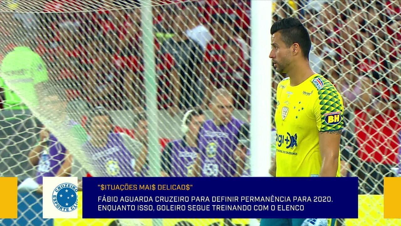 Arthur Dapieve compara permanência de Fabio no Cruzeiro a Jefferson no Botafogo