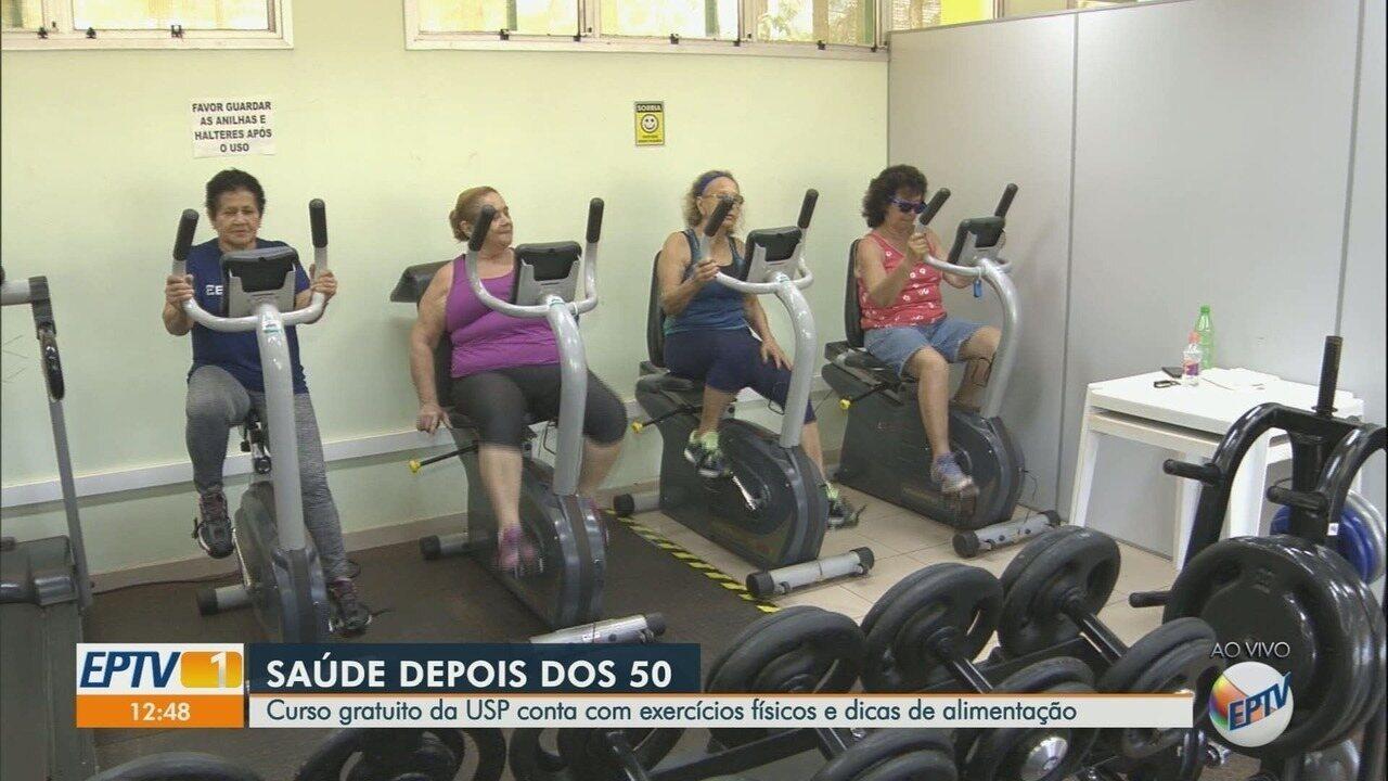 USP em Ribeirão Preto oferece atividade física a mulheres de 50 a 70 anos