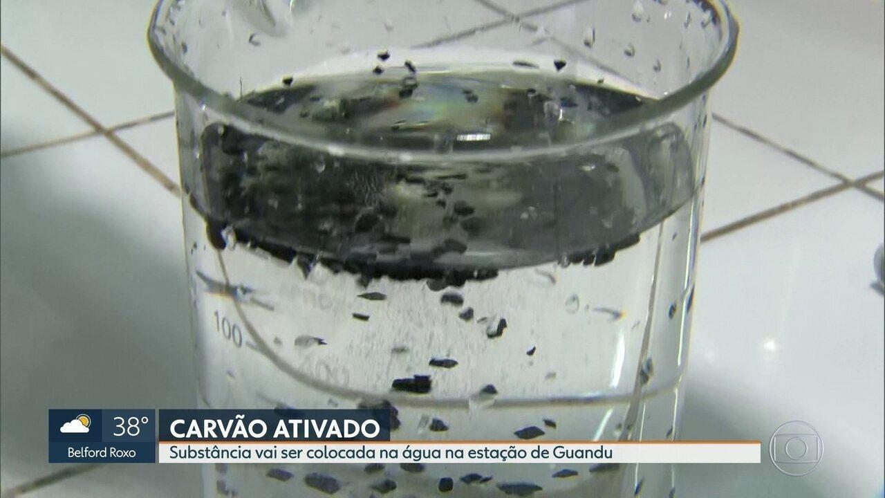 Cedae vai colocar carvão ativado na água na estação de tratamento do Guandu