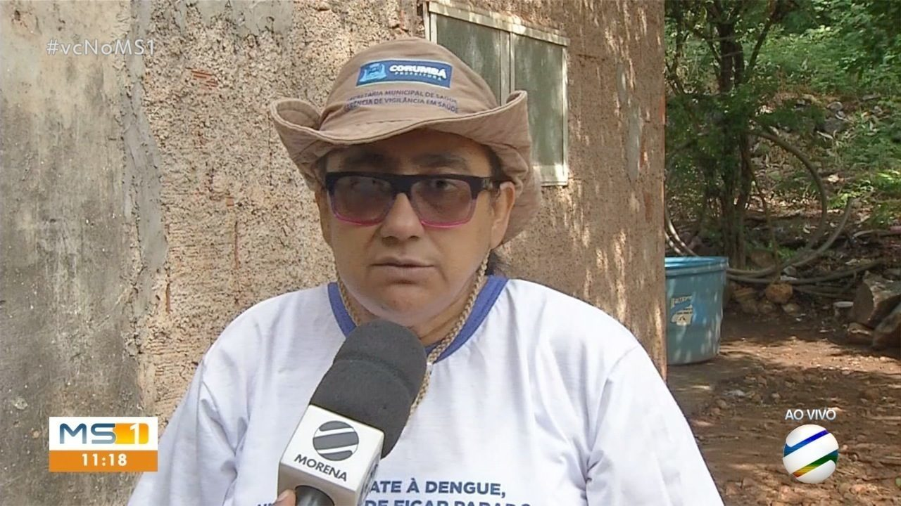 Saúde pública de Corumbá faz mutirão contra a dengue