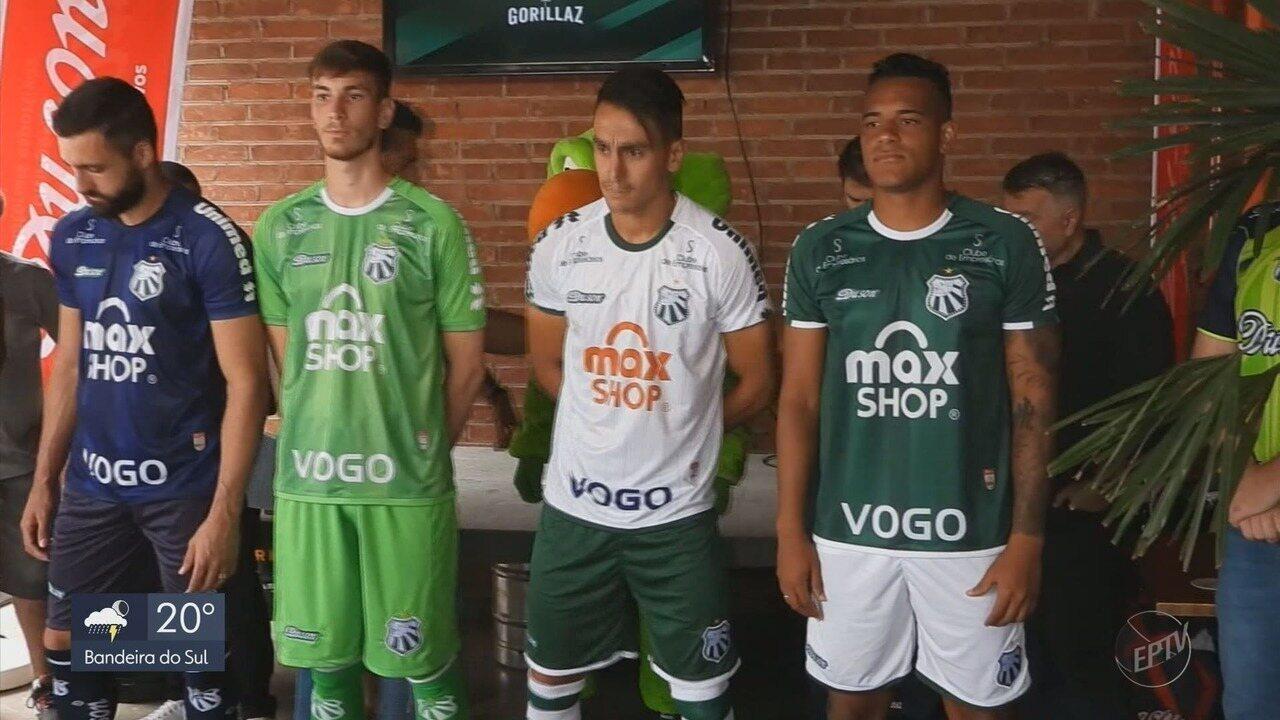 Caldense anuncia reforços e apresenta novos uniformes para a temporada 2020