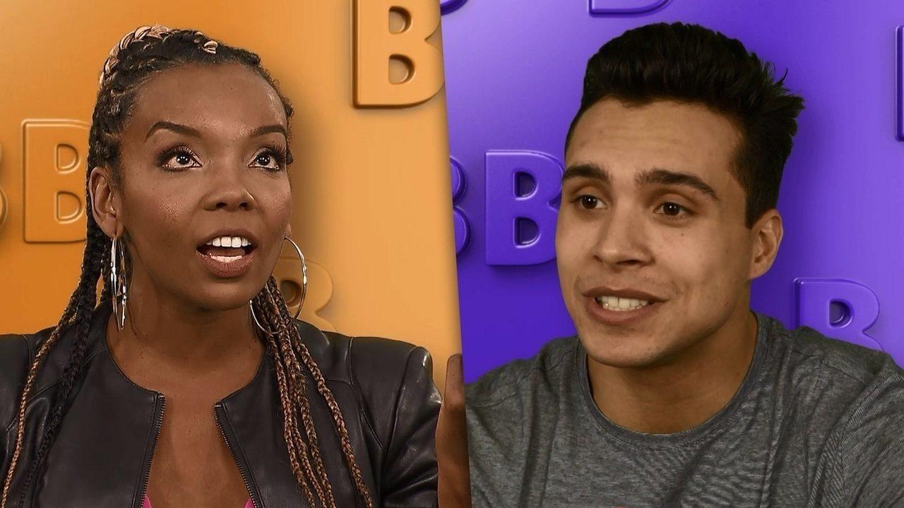 Thelma e Petrix Barbosa são participantes do BBB20