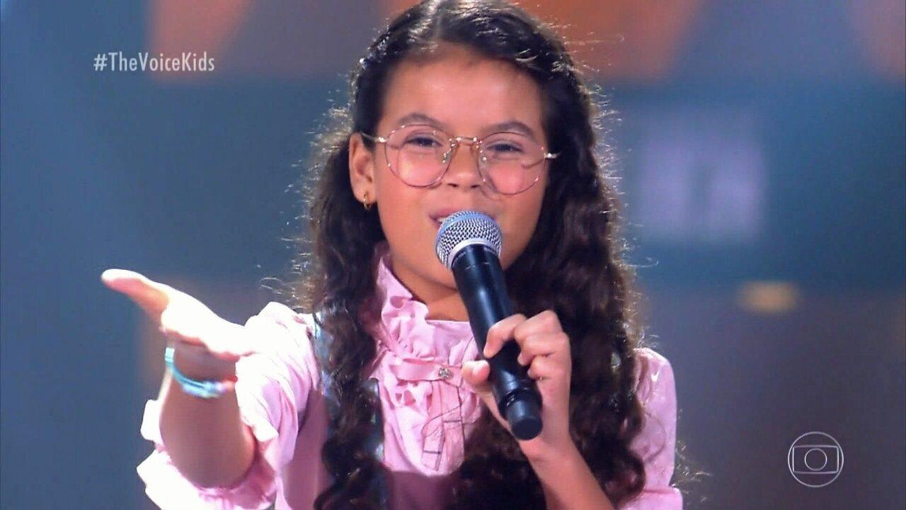 Júlia Lima canta 'Ai Que Saudade De Ocê' nas Audições às Cegas