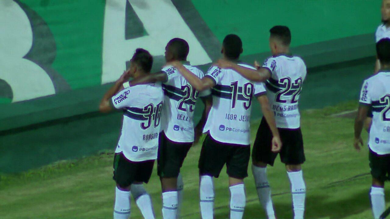 Veja os gols de Coritiba 2 x 1 FC Cascavel, pela primeira rodada do Paranaense