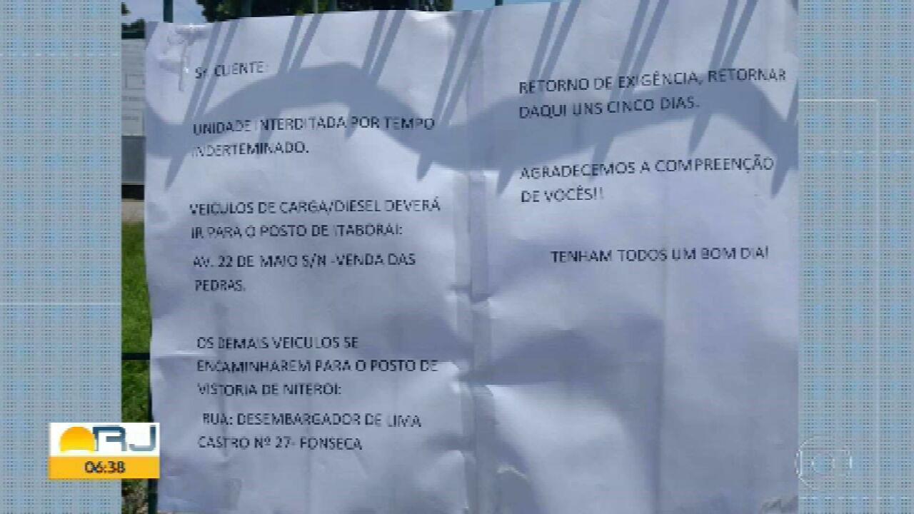 Posto do Detran em São Gonçalo é fechado por infestação de piolho de pombo