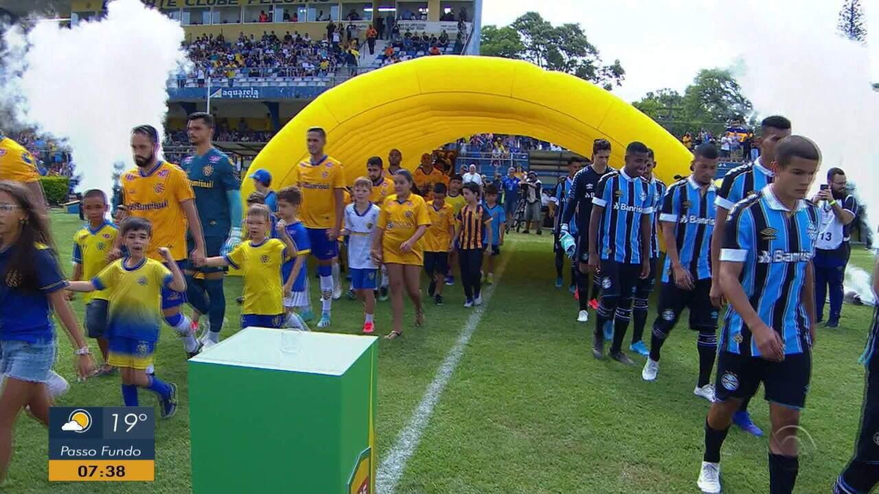 Pelotas vence o Grêmio nos pênaltis e fica com a taça da Recopa Gaúcha