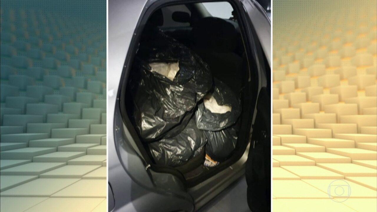 Polícia prende casal de traficantes