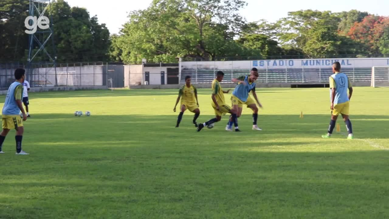 Parnahyba treina no Lindolfo Monteiro para duelo contra o 4 de Julho