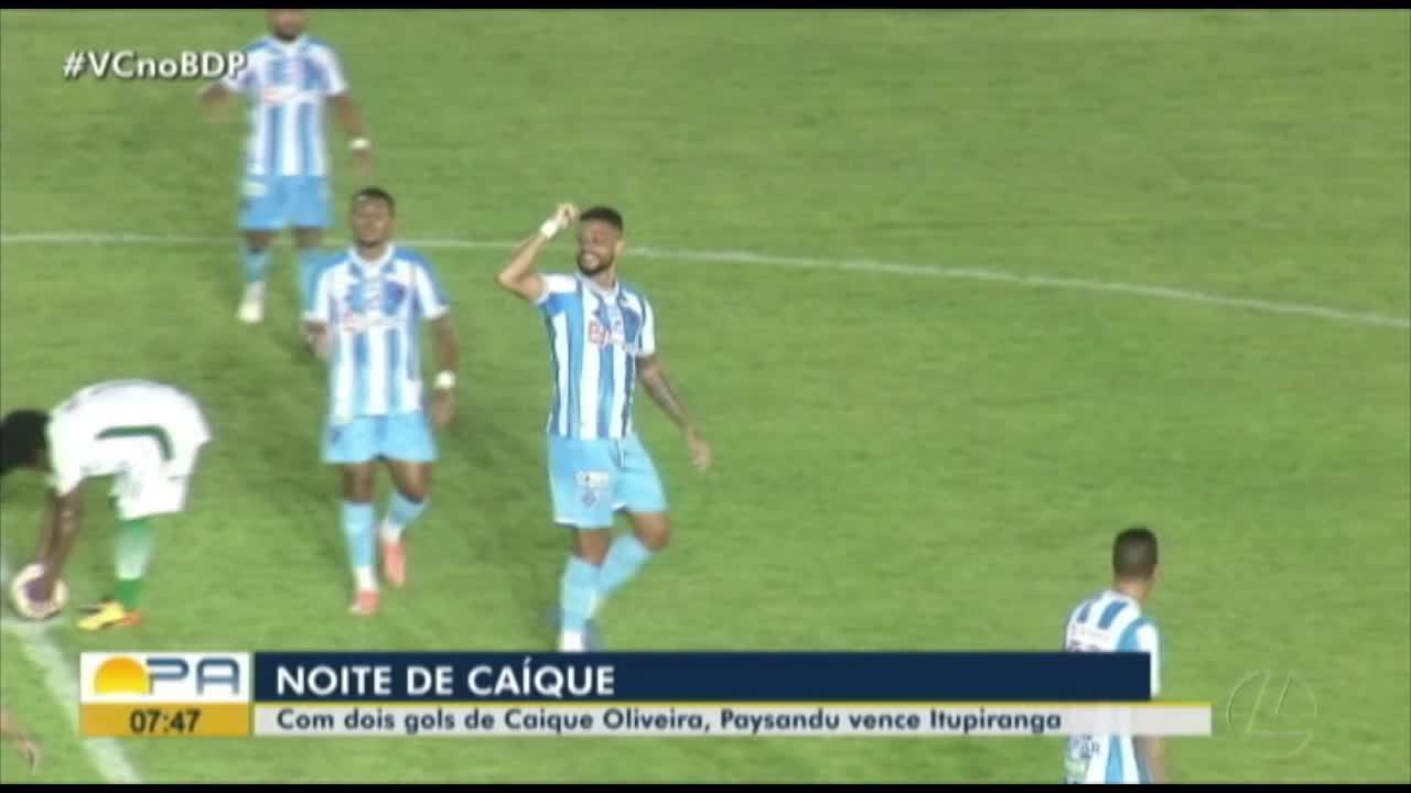 Paysandu 3 x 1 Itupiranga: assista aos melhores momentos do jogo