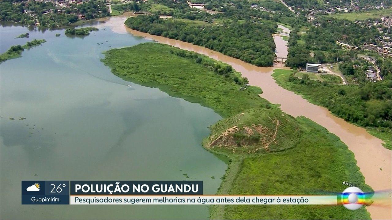 Pesquisadores da UFRJ sugerem mais três tratamentos para melhorar água do Rio  Guandu | Rio de Janeiro | G1