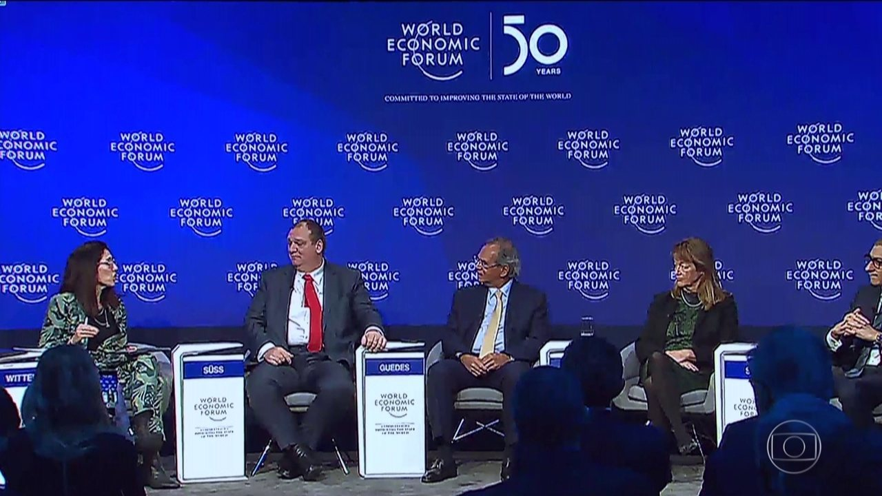 Meio ambiente domina debate no Fórum Econômico Mundial, em Davos