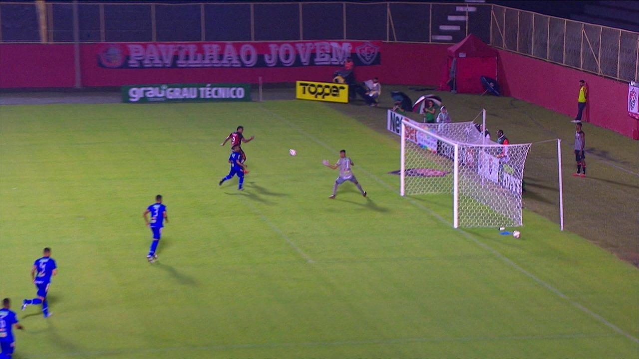 Melhores momentos de Vitória 1 x 0 Jacobina pelo Campeonato Baiano
