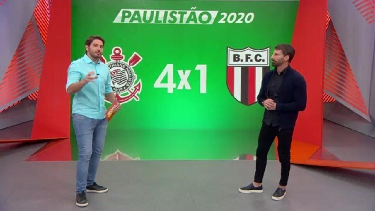 """Pedrinho dá crédito a Tiago Nunes no Corinthians: """"Ideia de jogo muito ofensiva"""""""