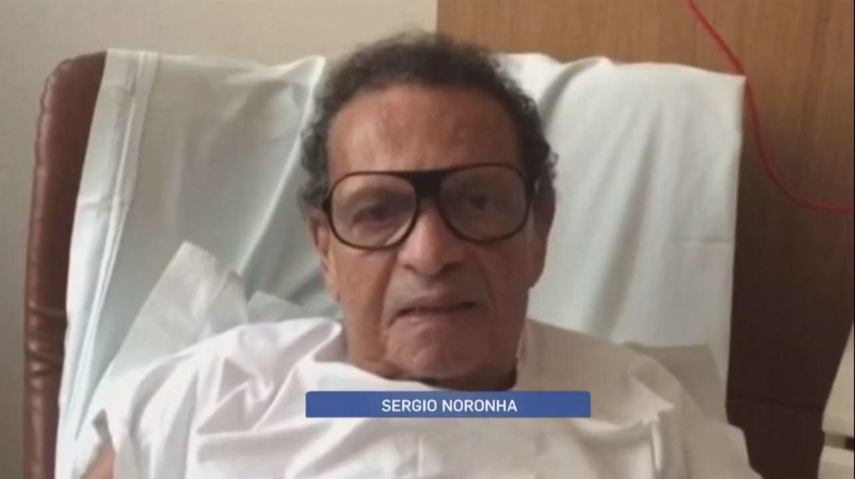 Em 2015, Galvão, Arnaldo e Falcão lembraram histórias com Sérgio Noronha