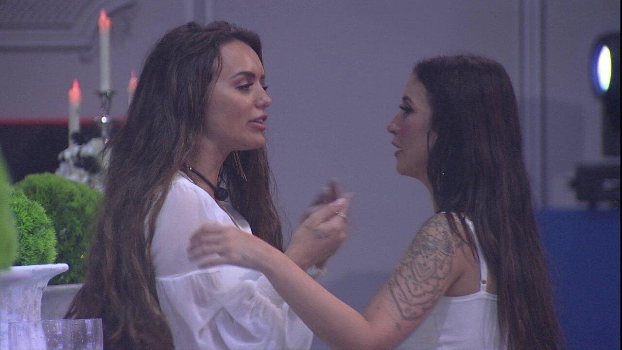 Bianca para Rafa: 'Como eu ia te seguir? Eu não tinha uma impressão boa de você'