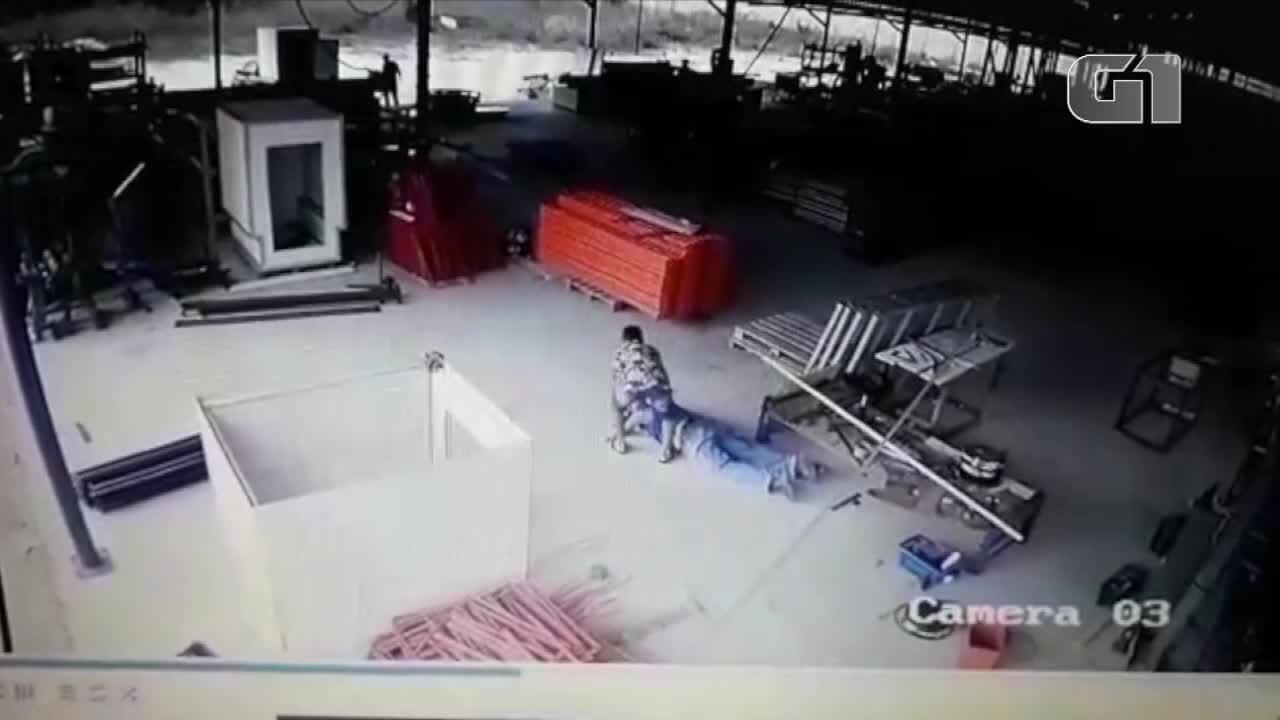 Bandidos armados invadem sede de indústria de aço na Grande Natal e fazem arrastão