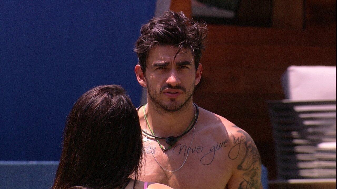 Guilherme acredita que Chumbo está sofrendo mais com o Monstro