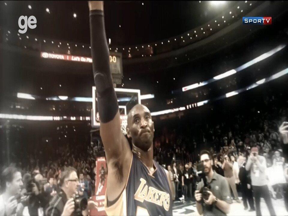Relembre momentos históricos de Kobe Bryant na NBA