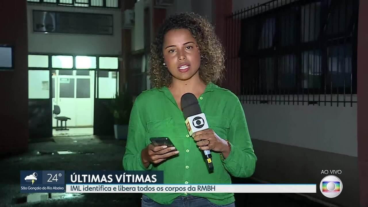 Corpos de vítimas da chuva da Região Metropolitana de BH são liberados