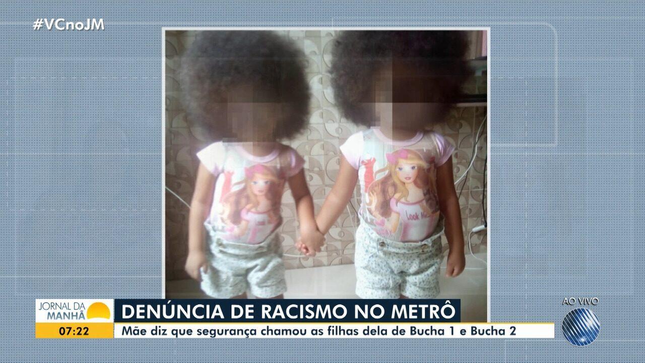 Mãe denuncia caso de racismo sofrido pelas filhas na estação de metrô da rodoviária