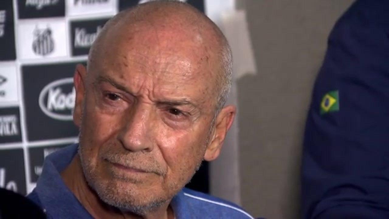 Veja a entrevista do técnico Jesualdo Ferreira, do Santos, após a vitória sobre o Guarani