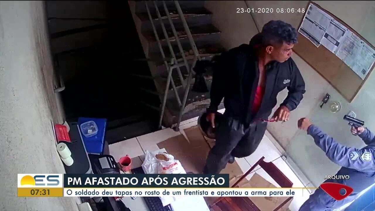 Resultado de imagem para Corregedoria da PM afirma que policial que agrediu frentista já está sendo investigado