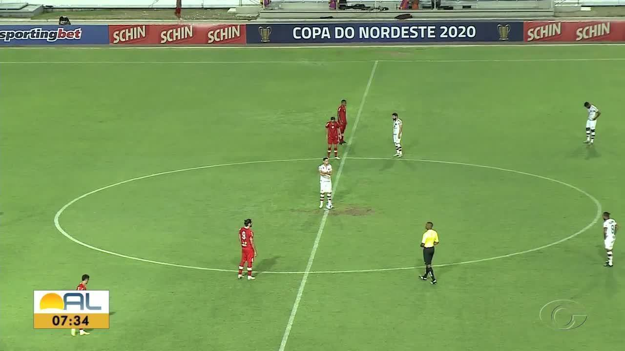 CRB vence o Santa Cruz e se reabilita na Copa do Nordeste