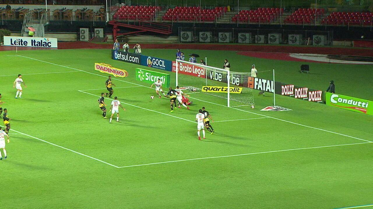 Melhores momentos: São Paulo 1 x 1 Novorizontino pela 4ª rodada do Campeonato Paulista