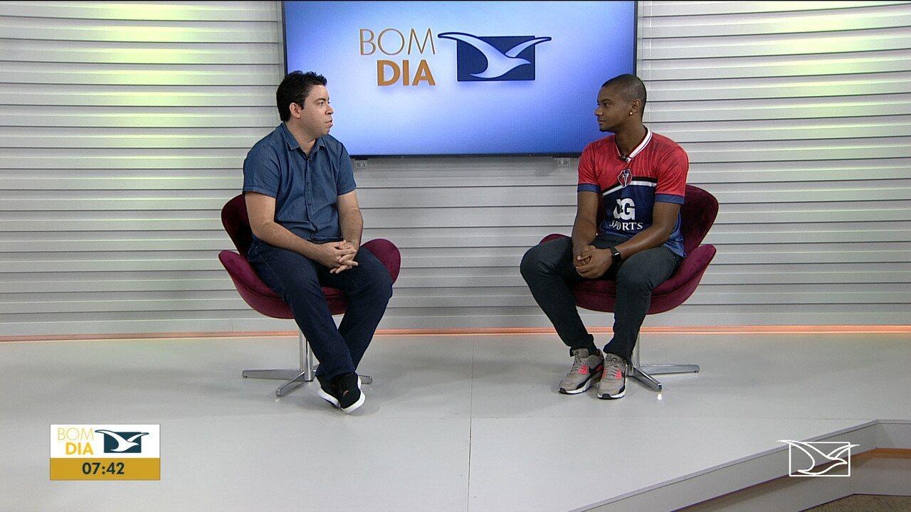 Diego Cerqueira foi entrevistado ao vivo na manhã desta quarta-feira, no Bom Dia Mirante