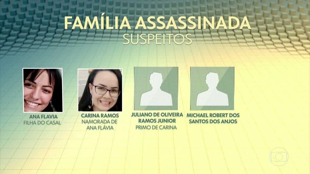 Polícia procura mais um suspeito de participação no assassinato da família no ABC Paulista