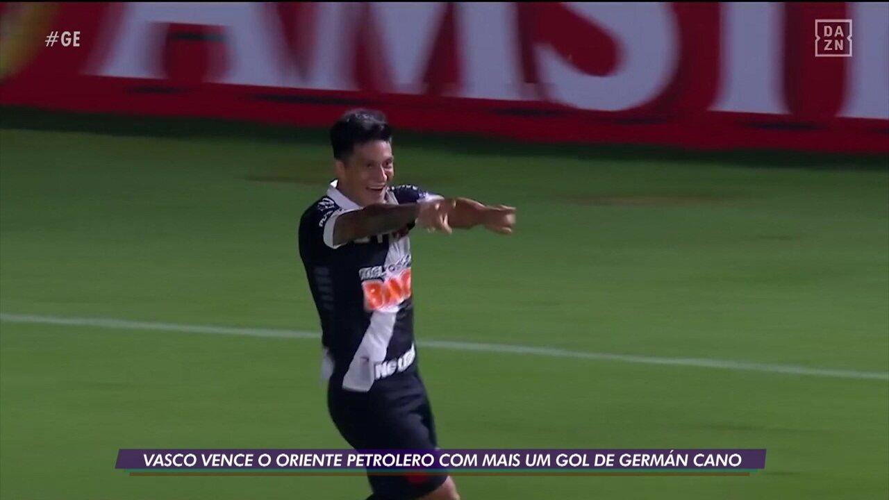 Com gol de Cano, Vasco vence o Oriente Petrolero pela Copa Sul-Americana
